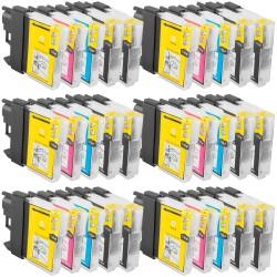 Sparset 30 Patronen XL alternativ zu Brother LC-1100 BK, C, M, Y