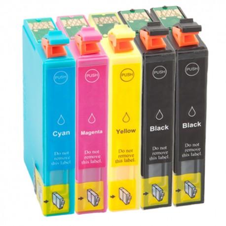 Sparset 5 Patronen XL alternativ zu Epson T1631-T1634 16XL