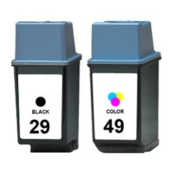 Megaset 3 Patronen XL recycled HP 29 & 49