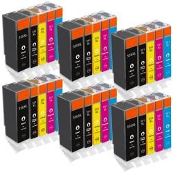 Sparset 30 Patronen XL alternativ zu Canon PGI-550XL CLI-551XL